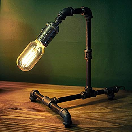 MKKM Lámpara de Mesa-Lámparas de Mesa Impermeables Individualidad ...