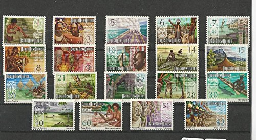 Papua New Guinea, Postage Stamp, 369-388 Mint NH, 1973-74 ()