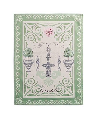 Maison d' Hermine Jardin du Roy 100% Cotton Set of 2 Kitchen Towels 20 Inch by 27.5 Inch (Best Tea Set Brands In India)