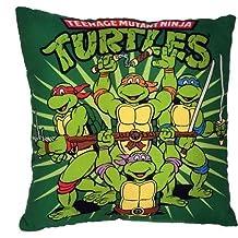 B Lyster shop Cotton Linen Decorative Throw Pillow Case Cushion Cover TMNT Mutant Ninja Turtles pillow cases 18 x 18