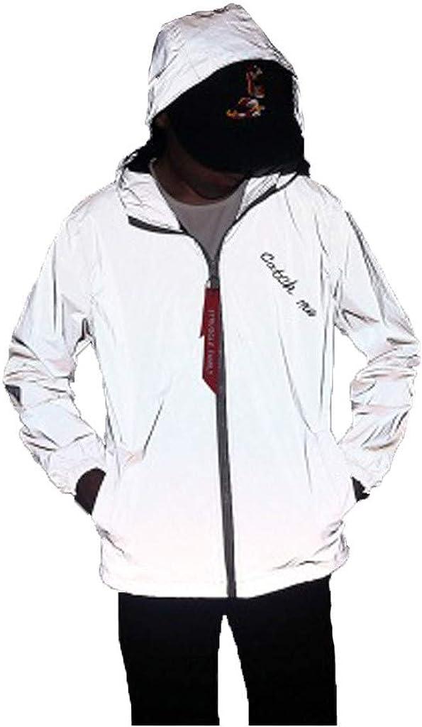 wuliLINL Reflective Sweatshirt Coat Men,Winter Warm Windproof Hooded Sweatshirt Quilted Jacket Overcoat 51lPFkLd9BL