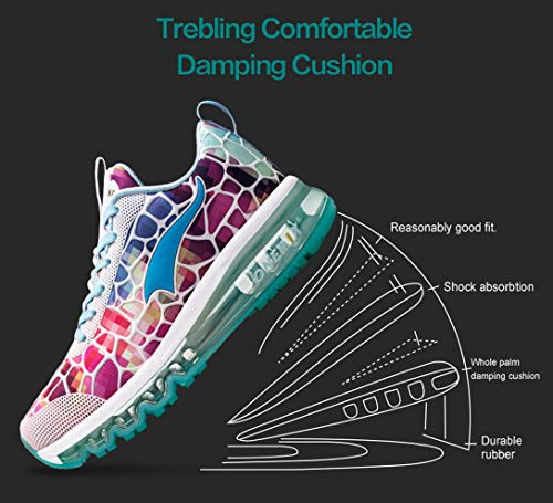 Sport Outdoor Walking Women's Sneakers Athletic Shoes Air Running Drive Cushion Jogging Gym ONEMIX Colorful Lightweight Exercise pOwzgzq