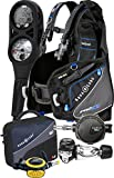 Aqua Lung Pro HD BCD i300 Dive Computer Titan / ABS Regulator Set Reg Bag Scuba Diving Gear Package