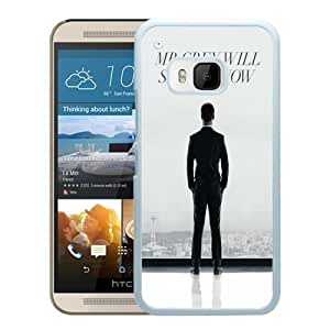 Mr. Grey Will See You Now Fifty Shades Of Grey White Personalized Recommended Custom HTC ONE M9 Phone Case