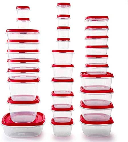 Rubbermaid Plastic Containers Reusable Stackable product image