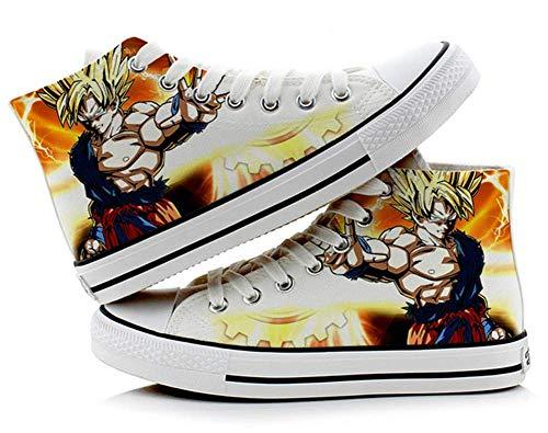Telacos Dragon Ball Z Son Goku Vegeta Cosplay Shoes Canvas Shoes Sneakers 4 Choices