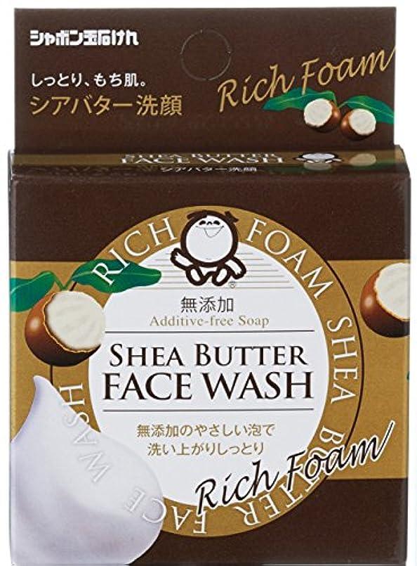 雑品セッティング方法論シャボン玉 シアバター洗顔 60g