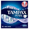 Tampax Pearl Plastic Tampons, Light Absorbency, Unscented, 36 Ct, Packaging May Vary by P&G