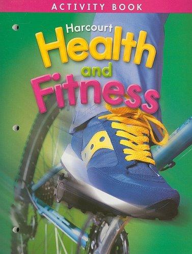 Harcourt Health & Fitness: Activity Book Grade 4