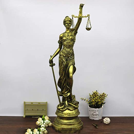 Lili Resina Moderna Antigua Grecia Presidió Justicia Ley ...