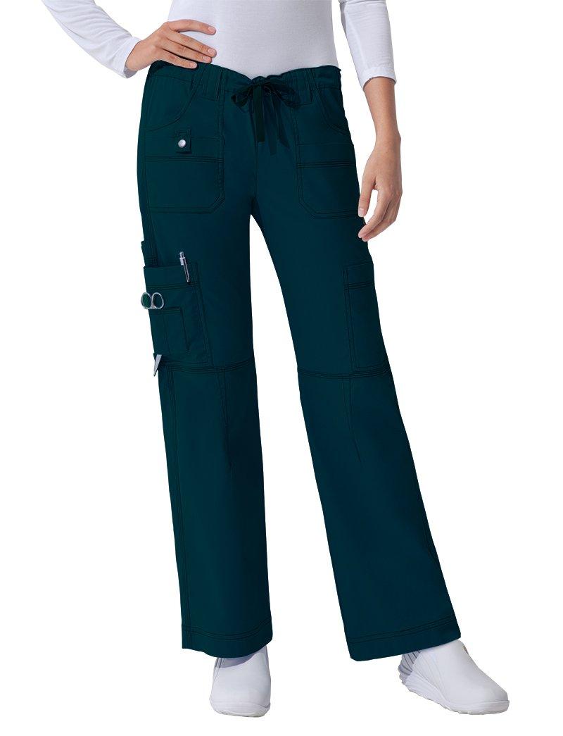 Dickies Gen Flex Women's Youtility Drawstring Elastic Waist Scrub Pant XXX-Large Petite Hunter by Dickies