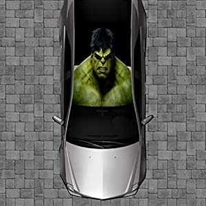 Amazoncom R GREEN MONSTER Roof Wrap Decal Decals Wraps Vinyl - Cool custom vinyl decals for carsamazoncom hulk vinyl decal sticker automotive