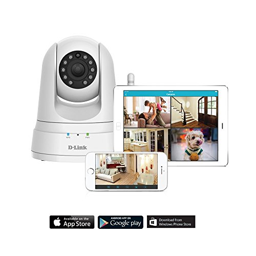 D-Link HD Pan & Tilt Wi-Fi Camera (DCS-5030L)
