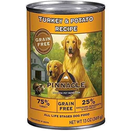 Pinnacle Turkey and Potato Grain-Free Formula Dog Food, 13-Ounce Cans, Case of - Pinnacle Turkey