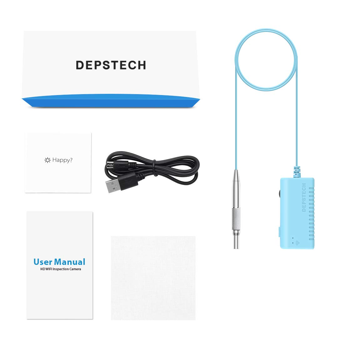 Inspection & Analysis HD Wireless Ear Inspection Camera for iOS ...