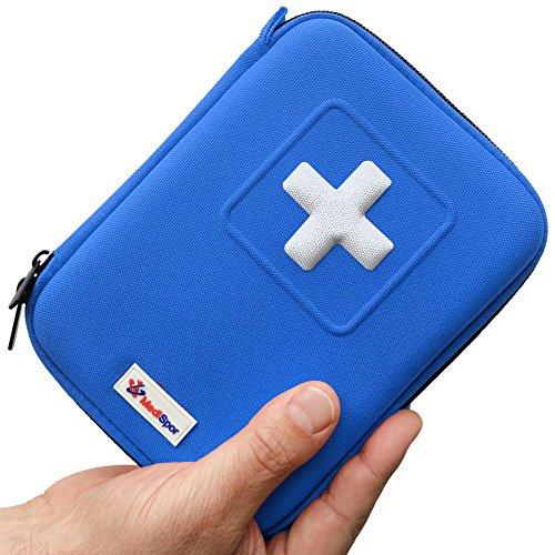 MediSpor 100 Piece First Blue Hard