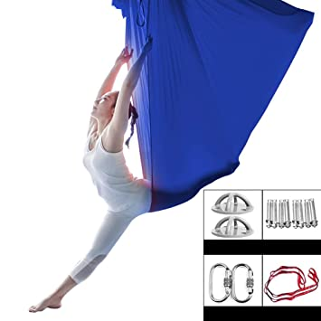 Amazon.com : XDTCHEN Aerial Yoga Hammock Set, Yoga Hammock ...