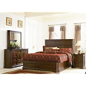 Amazon.com: Foxhill Collection Queen Size 4Pc Bedroom Set by ...