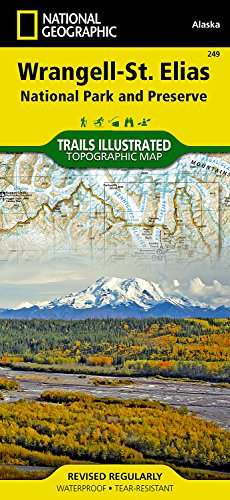 Wrangell-St. Elias National Park and Preserve (National Geographic Trails Illustrated Map)
