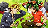 263 YuGiOh! ARC-V PLAYMAT CUSTOM PLAY MAT ANIME PLAYMAT INCLUDES EXCLUSIVE GUARDIAN PLAYMAT TUBE