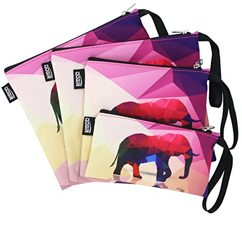 QOGiR Reusable Snack Bags and Sandwich Bags with Handle -