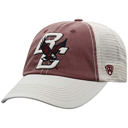 (Top of the World Boston College Eagles Men's Mesh-Back Hat Icon, Garnet, Adjustable)