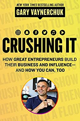 Crushing it- Inspiring books for entrepreneurs