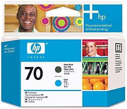 HP Cabezal de impresión negro y cian mate HP 70 70 Printheads: Amazon.es: Oficina y papelería
