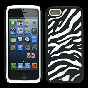 CellTx Mesh Case For Apple (iphone 5, 5S) Skin Rubber Case Cover (Black, White) AT&T, T-Mobile, Sprint, Verizon, Cricket, Virgin Mobile, Boost Mobile by Maris's Diary
