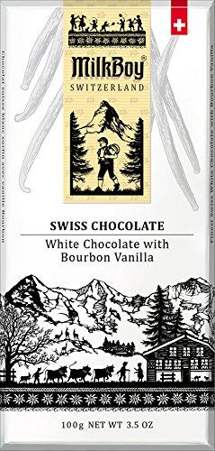 Milkboy Swiss White Chocolate with Bourbon Vanilla (5 Pack)