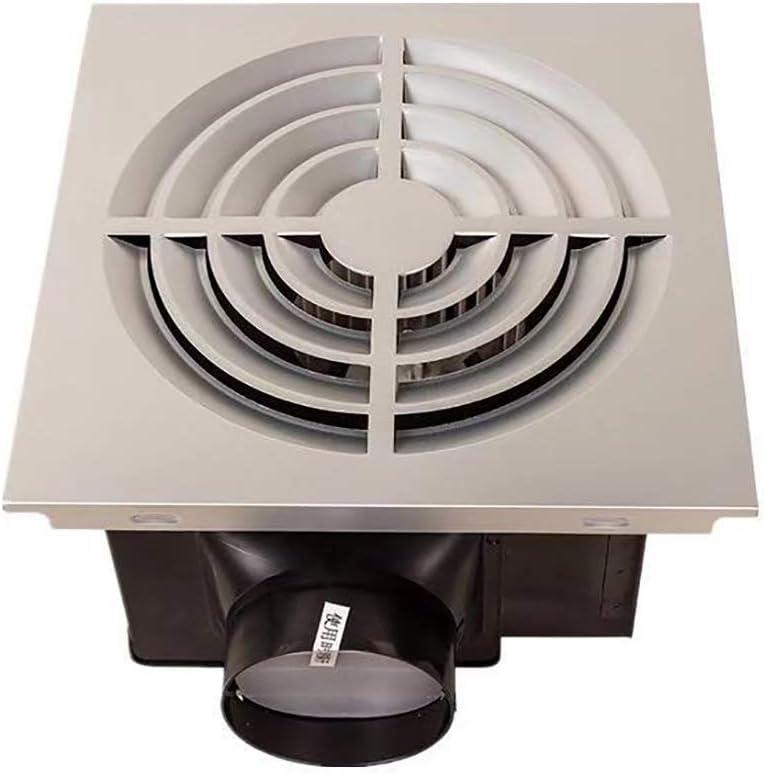 BCXGS 16W Ventilador Extractor, Extractor de Aire de Techo Integrado con 150m³/h de Velocidad del Viento y Ruido de 34dB, Adecuado para Ventilación En El área de 7-11㎡