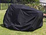 CoverMates: Lawn Tractor Cover – Fits 58 Inch Width x 82 Inch Depth x 52 Inch Height – Ultima Ripstop – 600D UV/Water Resistant Poly – 360 Degree Drawcord for Custom Fit – 7YR Warranty- Ripstop Black Review