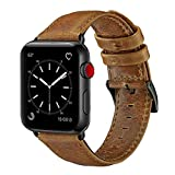 OUHENG Compatible with Apple Watch Band 38mm 40mm, Genuine...