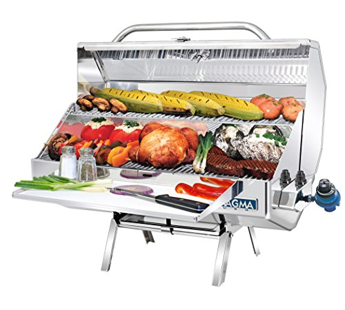 Grill Gourmet Series (Magma Products, A10-1225-2 Monterey 2 Gourmet Series Gas Grill, Polished Stainless Steel)
