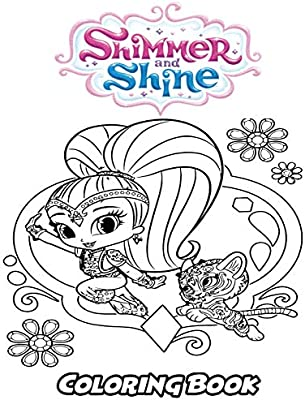 Shimmer And Shine Coloring Pages Printable - Coloring Pages Kids 2019   400x304