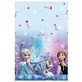 Unique Plastic Disney Frozen Table Cover, 84-Inch by 54-Inch