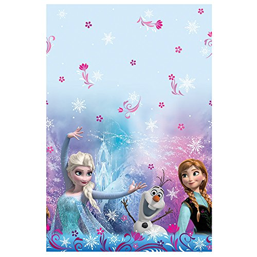 Elsa Party Supplies (Disney Frozen Plastic Tablecloth, 84