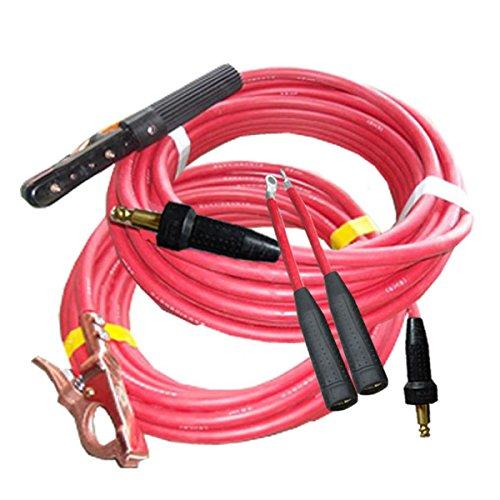 堺電業 60000-264 溶接用WCT キャプタイヤ 22SQ カラー ホルダー20m/アース10m 中島式 赤色 赤色 赤色 B01LWJ0LOO