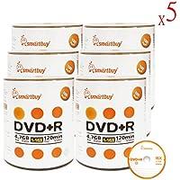 Smart Buy 3000 Pack DVD+R 4.7gb 16x Logo Blank Data Video Movie Recordable Disc, 3000 Disc 3000pk