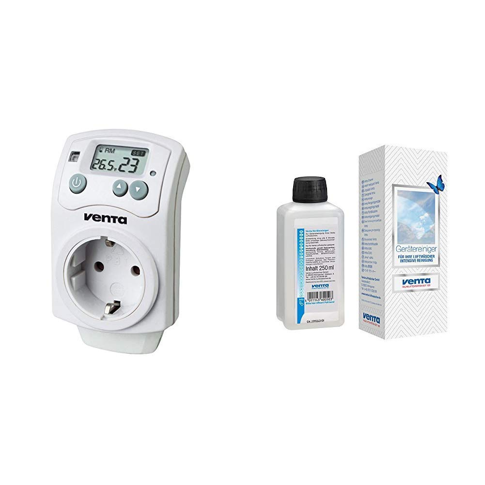 digitaler Steckdosen Hygrostat automatische Regulierung der Luftfeuchtigkeit Venta Hygrostat
