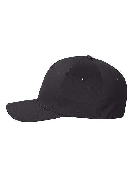 11ac15c68efe7 Flexfit Premium Seamless Hat - Delta 180 L XL (Black) at Amazon ...