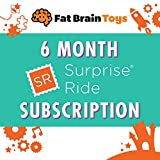 Fat Brain Toys Surprise Ride Subscription Activity Box - 6 Months Maker & DIY Kits for Ages 5 to 12