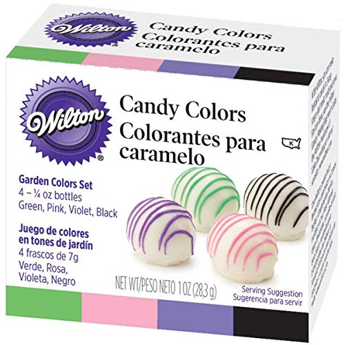Wilton Candy Decorating Primary Colors Set, 1 oz. -