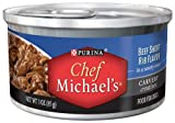 Chef Michael's Beef Short Rib Dog Food, 3-Ounce (Pack of 24), My Pet Supplies
