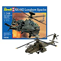 Revell 04046 AH-64D kit de modelo de apache de arco largo