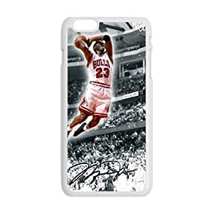 Bulls 23 flying man Jordon Cell Phone Case for Iphone 6 Plus