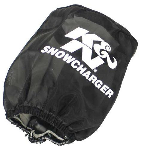 K&N SN-2530PK Black Snowcharger Filter Wrap - For Your K&N SN-2530 Filter K&N Engineering