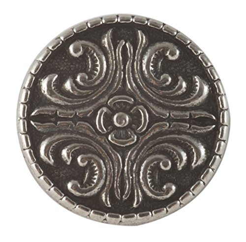 Solid Pewter Button - Bjorg Middels Button - Solid Pewter