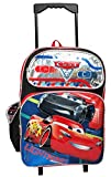 Disney Pixar Cars 16'' Large Rolling Backpack