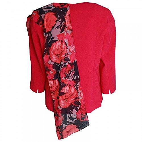 Lined Cut Jacket Classic amp; Dress Onslow Hudson Fushsia zRqYEwIC